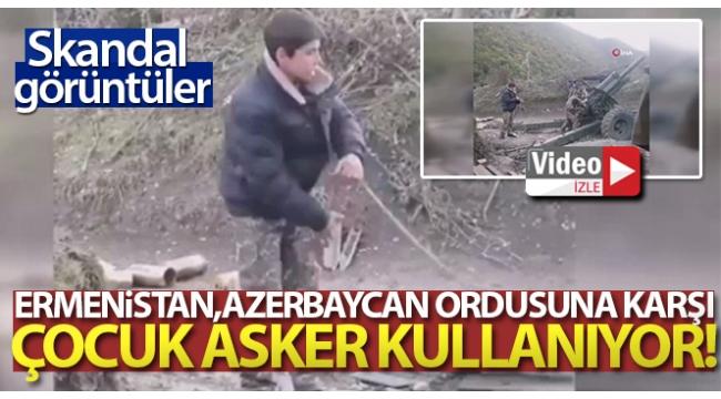 Azerbaycan duyurdu: Ordusu büyük zayiata uğrayan işgalci Ermenistan cepheye çocukları sürdü.