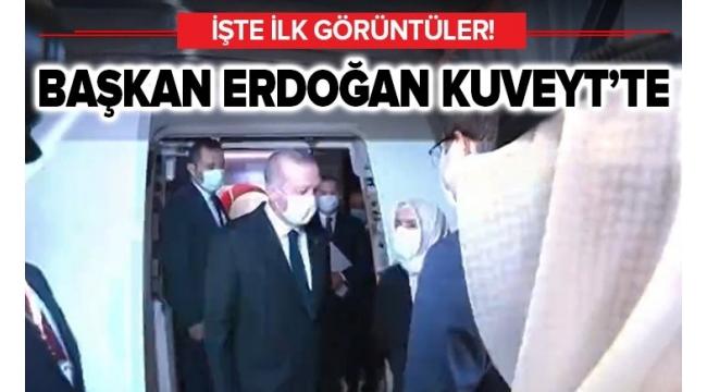 Başkan Recep Tayyip Erdoğan, Kuveyt Emiri'ne taziyelerini iletti.