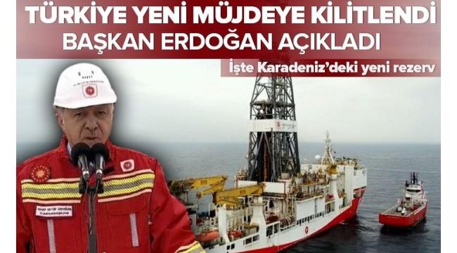 SON DAKİKA... Başkan Erdoğan Zonguldak'ta müjdeyi verdi: Doğal Gaz rezervimiz 405 milyar metreküp oldu.