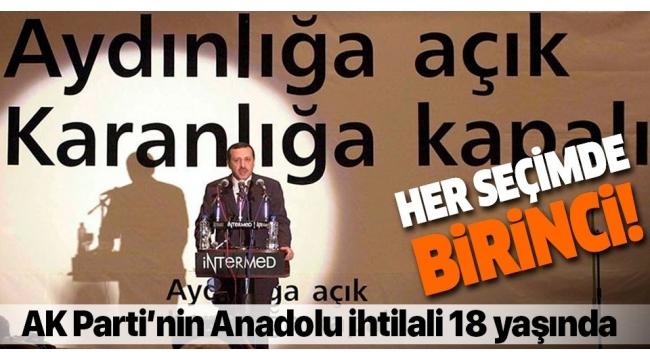 Anadolu ihtilali 18 yaşında! İlk seçimde iktidar oldu....
