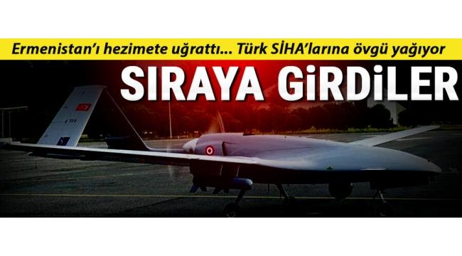 Dünya Türk SİHA'larını konuşuyor! Almak için sıraya girdiler.