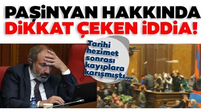 SON DAKİKA:ErmenistanBaşbakanı Paşinyan'ın ABD elçiliğinde olabileceği iddia edildi.