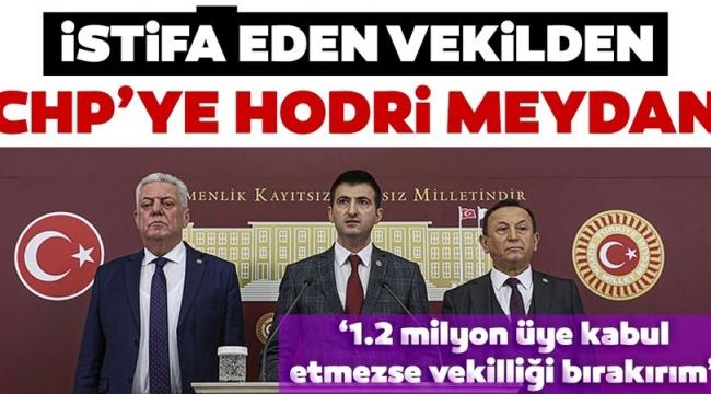 CHP'den istifa eden Mehmet Ali Çelebi'den Kemal Kılıçdaroğlu ve Özgür Özel'e 'Hodri meydan' çıkışı.