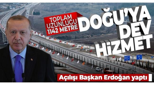 Diyarbakır'ın kuzeye açılan kapısı üzerindekiDevegeçidi Köprüsühizmete açıldı.