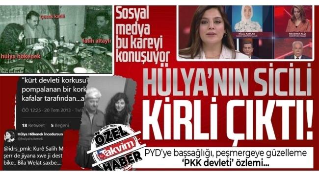 Habertürk canlı yayınında Hilal Kaplan'a skandal sansür! FETÖ PKK bağlantılarını tek tek saydı
