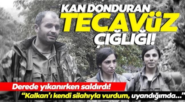 SON DAKİKA: Terör örgütü PKK'dan kaçan kadın teröristten kan donduran itiraflar: Tecavüz edip ölümle tehdit ettiler.