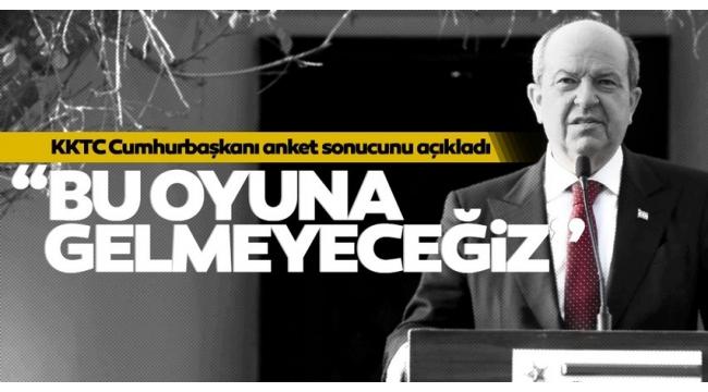 """KKTC Cumhurbaşkanı Ersin Tatar """"tuzak"""" deyip uyardı: Türkiye buradan çekilirse..."""