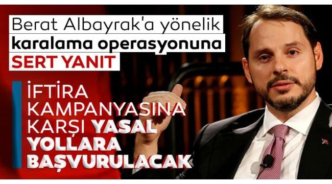 """Son dakika: Eski Hazine ve Maliye Bakanı Berat Albayrak'tan """"kayıp rezerv"""" iftiralarına 500.000 TL'lik tazminat davası!"""