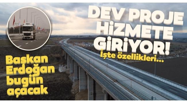 Son dakika: Tohma Köprüsü bugün hizmete giriyor! Açılışını Başkan Erdoğan yapacak