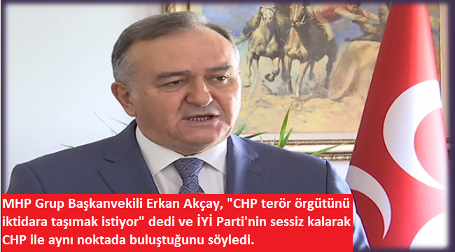 """CHP'liDursun Çiçek'in """"HDP'ye Bakanlık"""" itirafına MHP'den tepki: CHP terörü iktidara taşımak istiyor"""