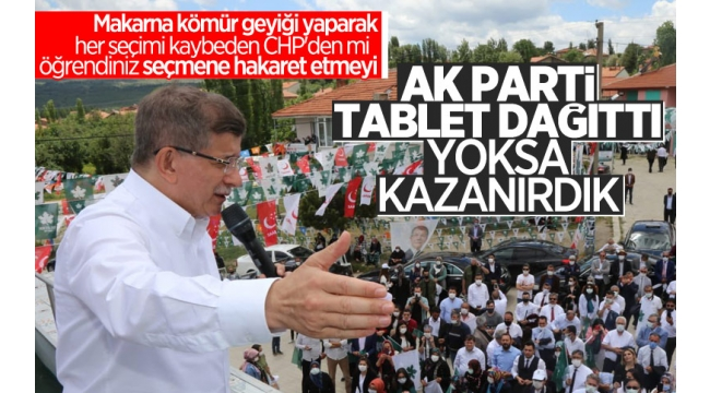 Afyonlular SerokAhmet Davutoğlu'na dersini verdi! Güney'de AK Parti 1024, Gelecek Partisi 17 oy aldı