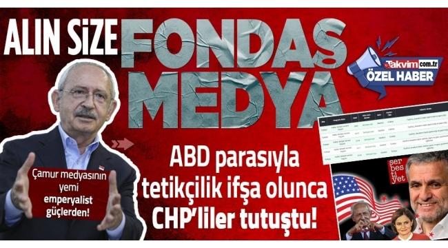 ABD'den maaş alan muhalif medyanın ihanetine CHP desteği!