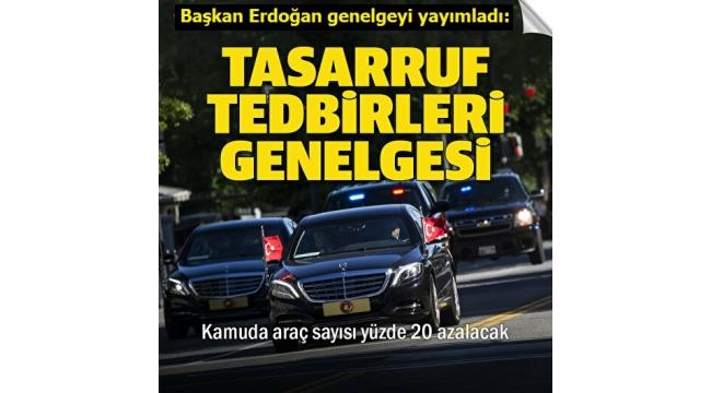 Son dakika: Başkan Erdoğan imzaladı: Yeni bina ve araç alımı durduruldu! Cep telefonu ile görüşme limiti geliyor