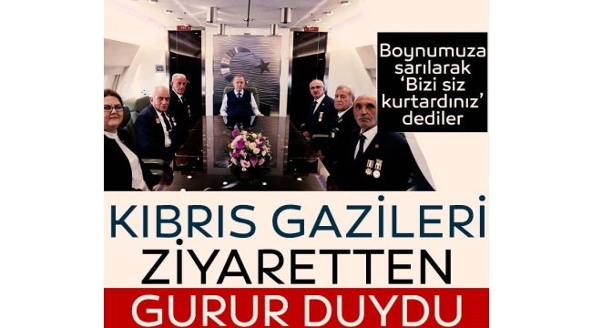 Son dakika haberi: KKTC ziyareti sonrası Erdoğan'dan dünyaya hodri meydan