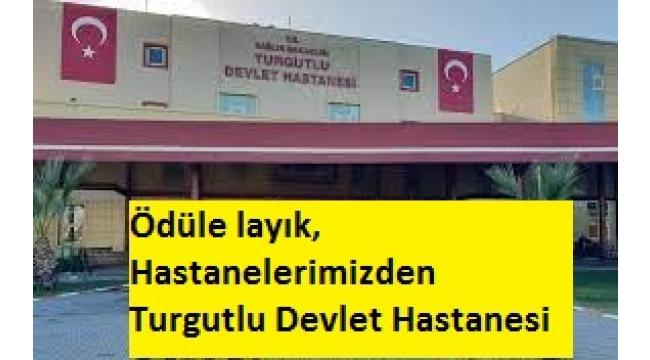 Turgutlu Devlet Hastanesi COVID-19 pandemisi sürecinde Başarılı hizmetleriyle Ödül'e layık Hastanelerimizden birisi oldu.