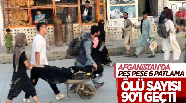 Son dakika: Dünya dehşete düştü! Kabil saldırılarında yeni görüntüler: Panik yayılıyor 90 ölü 150 yaralı