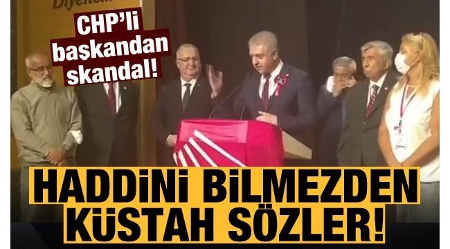 CHP Etimesgut İlçe Başkanı Cemal Emir'den Başkan Erdoğan ve AK Partililere haddi aşan ifadeler: Bunların kökünü kazıyacağız